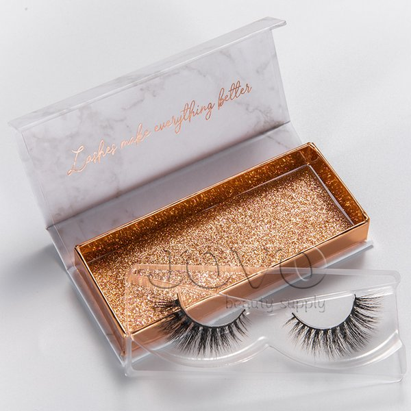 Real 3D Mink Lashes 48 Styles Handmade Thick 3D Mink Eyelashes Private Label With Custom Design Flip Eyelash Box Packaging