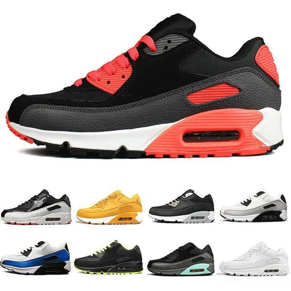 2019 Sıcak Satış 90 Desert Cevher Ayakkabı Erkek Eğitmenler Siyah Sneakers Koşu Klasik 90'lar moda lüks erkek kadın tasarımcı sandalet ayakkabı Koşu