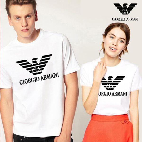 2019 hommes et femmes t-shirt Designer Hommes Marque t-shirts De Luxe De Mode À Manches Courtes Vêtements Pour Hommes Lettres Populaire Motif Respirant T-shirt