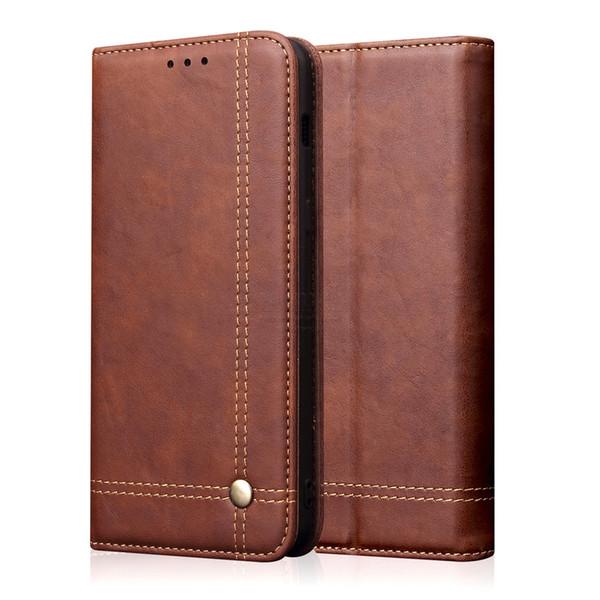 Роскошный ретро тонкий кожаный откидная крышка для Xiaomi RedMi Note 7 чехол бумажник карты стенд магнитный чехол для книги для Xiomi RedMi 7 чехол