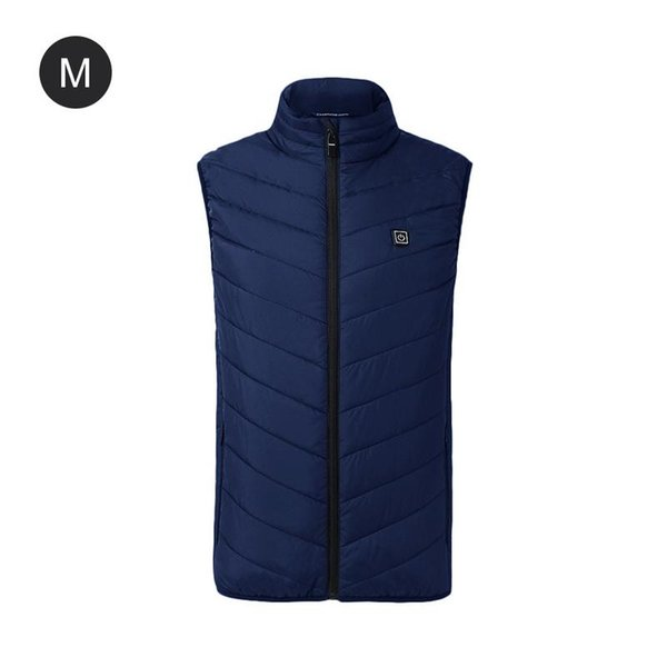 Men Women Electric Heated Vest Heating Waistcoat USB Thermal Warm Cloth Feather Hot Sale Winter Jacket