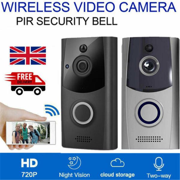 M11 스마트 무선 초인종 방수 카메라 무선 원격 비디오 도어 벨 나이트 비전 CCTV 차임 전화 APP 제어 경보 시스템