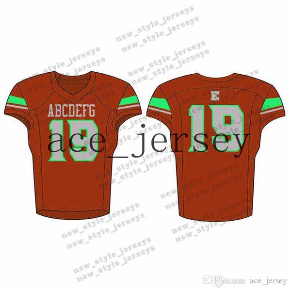 75Men 2019 Juventude Camisas De Futebol Exército Verde Vinho Vermelho Bordado Logos Costurado Costume Qualquer nome Qualquer número Jerseys