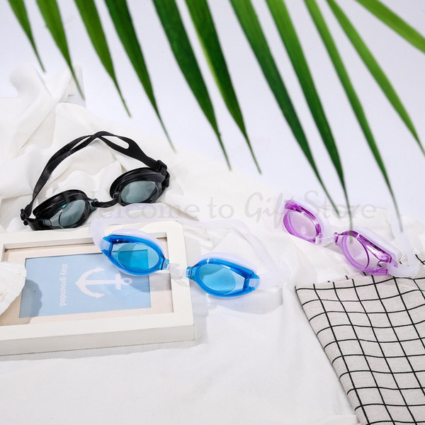 Children Swimming Glasses 31cm Belt Length Silicone Waterproof Anti-fog Professional Sport Glass Water Diving Swim Glasses SP010