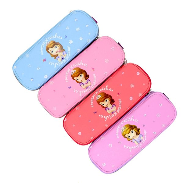 Cute girl pencil case student stationery Creative school supplies High capacity pouchpencil case