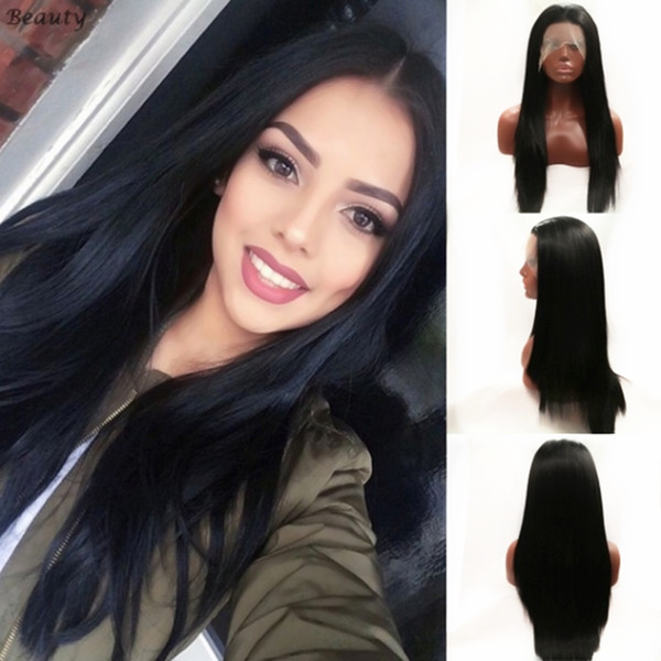 Straightened Long Layered Black Hair 52