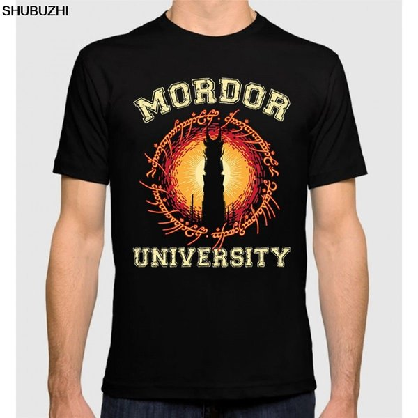 Mordor University T-shirt The Lord Of The Rings TLOTR Men's Tee