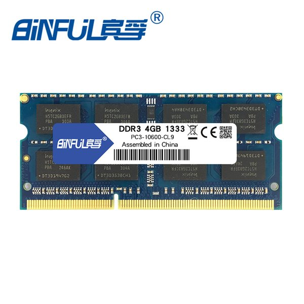 Computer Components RAMs Binful DDR3 4GB 1333mhz PC3-10600 SO-DIMM Notebook RAM 204Pin Laptop Memory laptop memory