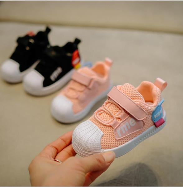 ROSE Enfants Enfants Infantile garçon garçon bébé frist walker bambins soft buttom Running Chaussures Sport Sneakers XXP157