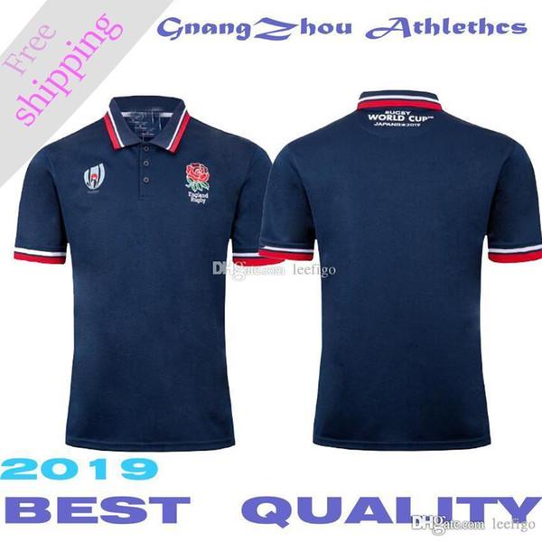 2019 Inglaterra World Cup polo NRL edição Rugby League Nacional Jersey Rugby Camisas de futebol T-shirt S-3XL