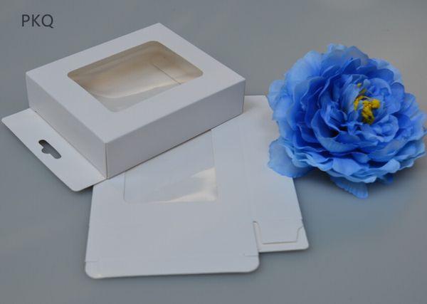 Универсальный чехол для мобильного телефона пакет коробка бумага крафт-белый розничная упаковка коробка 3x8x13 см упаковка шарф окно дисплея окно