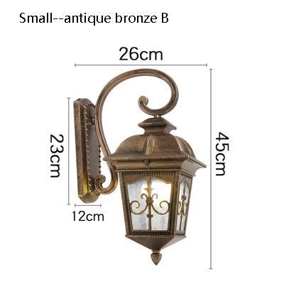 small Antique bronze B