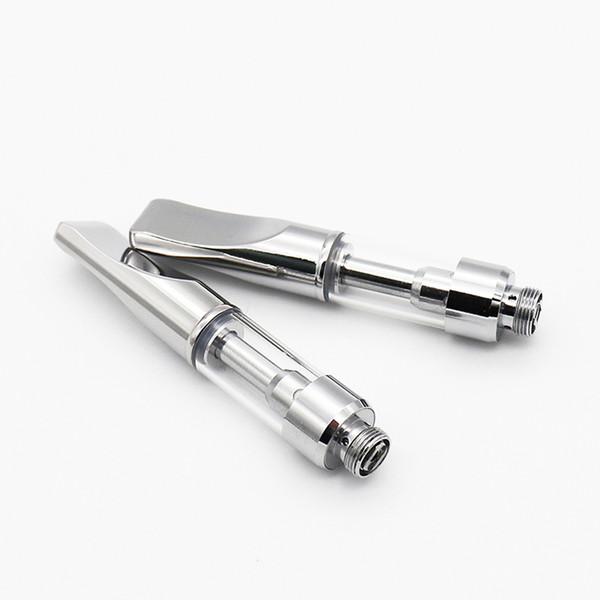 Best A3C Plus Ceramic Coil Vape Pen Cartridges Packaging Thick Oil Wax Pen Disposable Ceramic Cartridge Vaporizer Cartridge Free Shipping