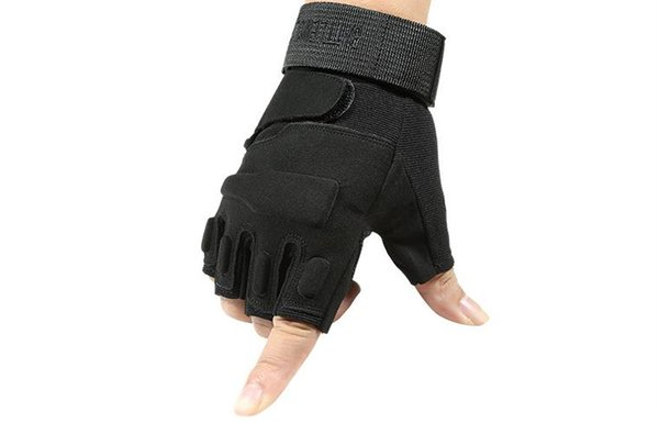 Special Forces Tactical Skid-proof and Wear-resistant Half-fingered Gloves Male Outdoor Sports Riding