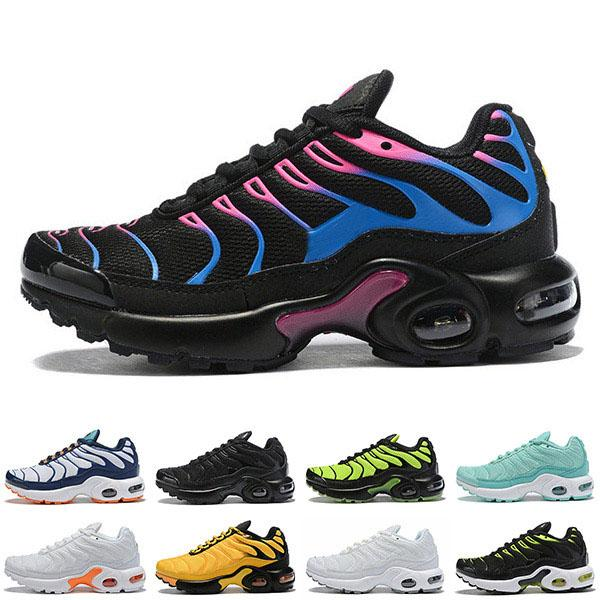 best selling Big Kids Plus Tn Sports Shoes Boys Vapors Sneakers Girls Trainers Children Sport Shoe Child Outdoor Teenage Trainer Youth Sneaker Boy Casual