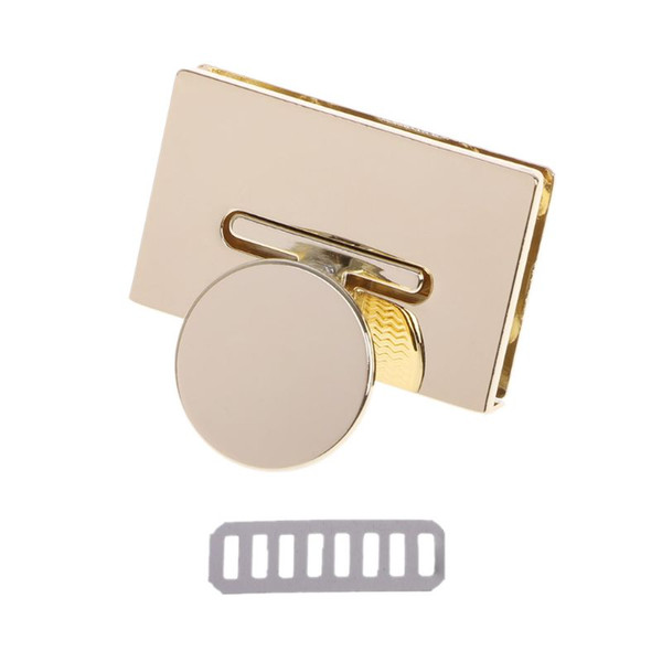 New Rectangle Clasp Turn Lock Twist Locks Metal Hardware For DIY Handbag Bag Purse