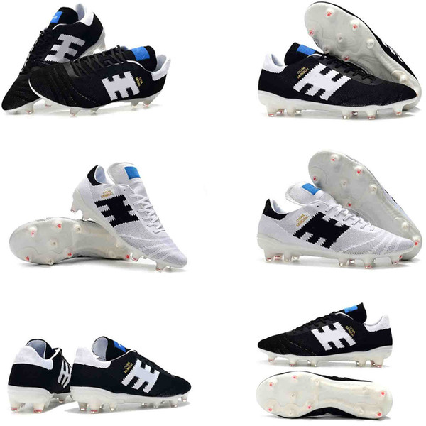 2019 original Arrival Mens Low Ankle Football Boots Copa 70Y FG Soccer Shoes 70th anniversary Outdoor Soccer Cleats