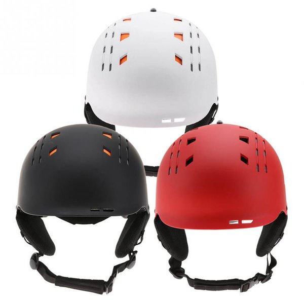 Unisex Adults Cycling Helmet Outdoor Snow Sports Ski Snowboard Head Protector Gear Cycling Safety Equipment