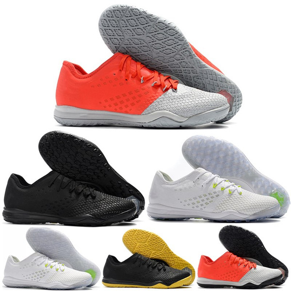 New arrival Mens Hypervenom PhantomX III PRO IC TF Soccer Shoes turf indoor Football Shoes Training sports shoes