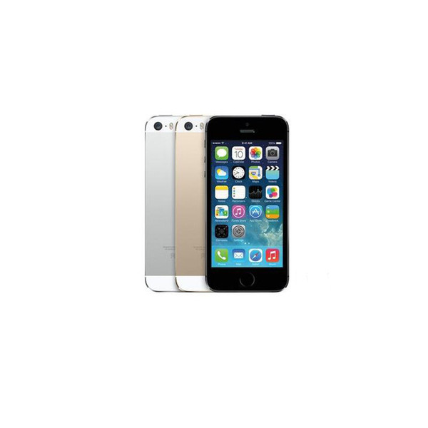 Apple iPhone5S iPhone 5S I5S Original Refurbished Mobilephone iOS 16G 32G With Touch ID WCDMA 3G 8MP Camera WIFI Bluetooth Camera Cellphone