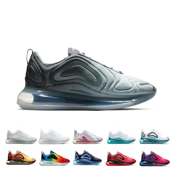 Sneakers corrida atacado para as Mulheres e Homens BETRUE Orgulho Triplo Branco Preto Speckle Volt Espírito Teal Ao ar livre Esportes Shoes