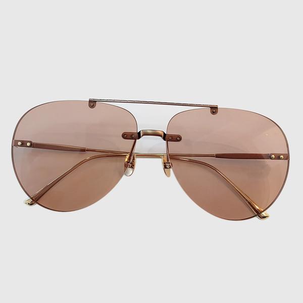 luxe - 2019 nouvelles lunettes de soleil femmes Designer lunettes de soleil haute qualité cadre en métal Shades Femme Lunettes