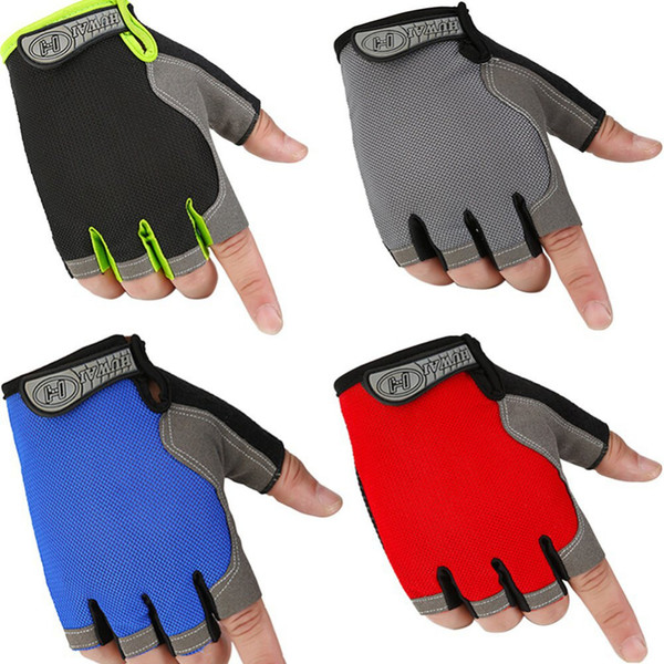 1 Para Fitness Halbfingerhandschuhe Outdoor Multifunktions Sporthandschuhe Training Gewichtheben Bodybuilding Gym Handschuhe Nagelneu