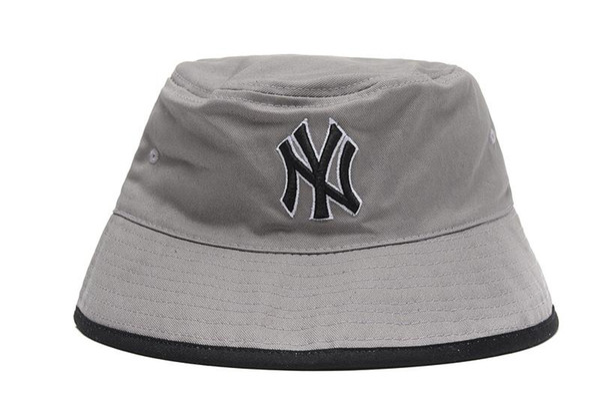 Good Design NY Bucket Hat For Mens Womens Foldable Fishing Caps Black Fisherman Beach Sun Visor Sale