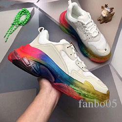 2020 nouveau plus bas design triple S à l'aide papa semelles combinaison de chaussures de sport mode des bottes des femmes des hommes chaussures de sport de haute qualité c0514