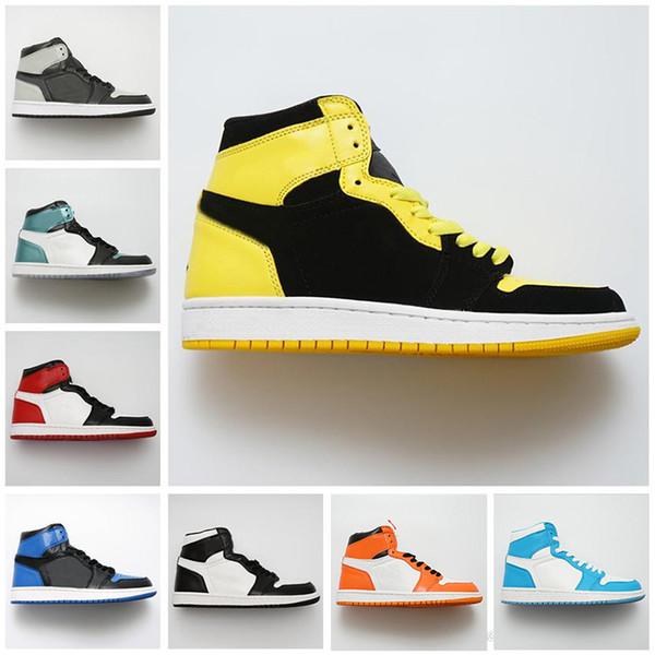 best selling New designer basketball shoes 1s top Obsidian UNC Fearless First Class Flight PHANTOM TURBO red 1 Backboard sport sneaker trainer men women