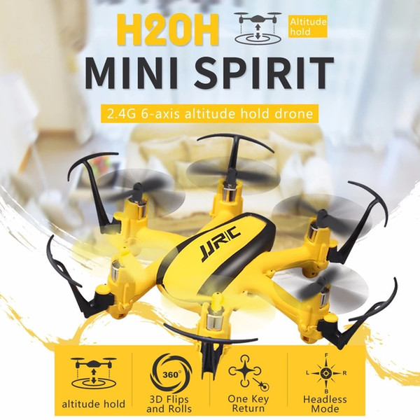 JJRC H20H 2.4GHz 4CH Mini rc Helicopter Toys Radio Control Altitude Hold RC Quadcopter Drone Gift indoor Six axis aircraft toy