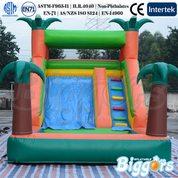 Free Shipping Inflatable Slide Bounce Castle Jumping Water Slide For Sale