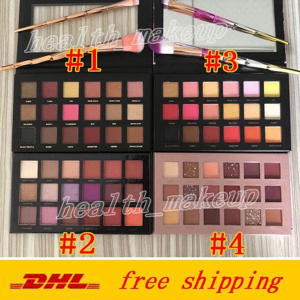 Beauty Brand Makeup Nude Eyeshadows 18 Farben Rose Gold Remastered Paletten Wüstendämmerung Lidschatten Mattschimmer Palette Kosmetik DHLfree sh
