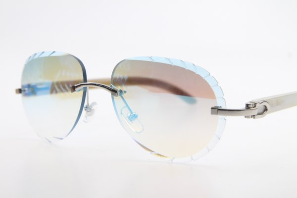 Silver Blue mirror Lens