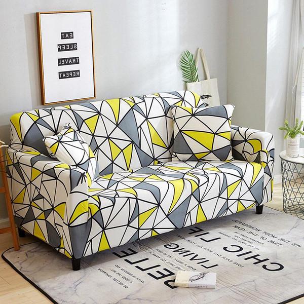 2 places canapé extensible Couvre meubles Protecteur polyester causeuse Canapé Couverture FAUTEUIL Couverture pour le salon