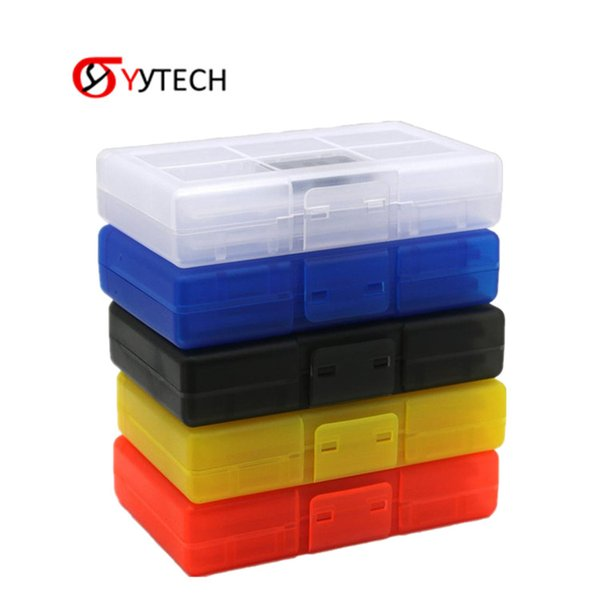 SYYTECH Game Card Holder 24 Card Slot in 1 Box Storage Box with 2 TF Cards Holder For Nintendo Switch