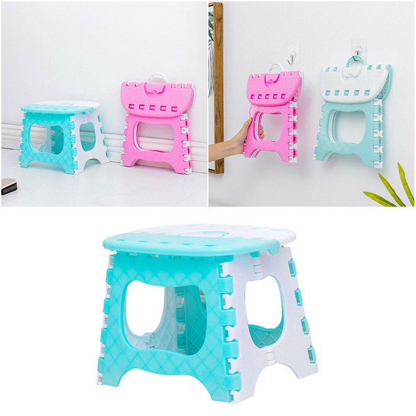 Superb 2019 Folding Stool Camping Chair Seat For Fishing Convenient Plastic Portable Step Stool Home Train Outdoor Indoor Foldable Chair Hot From Pabps2019 Chair Design Images Pabps2019Com
