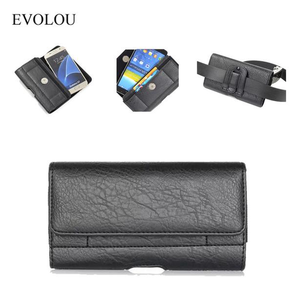 Зажим для ремня телефона для HTC M8 M9 M7 E8 Для LG G2 G3 G4 G5 Для Sony M2 Z3 Z4 Z5 Чехол для талии Сумка для талии Универсальная кобура 4.7-6.3 ''