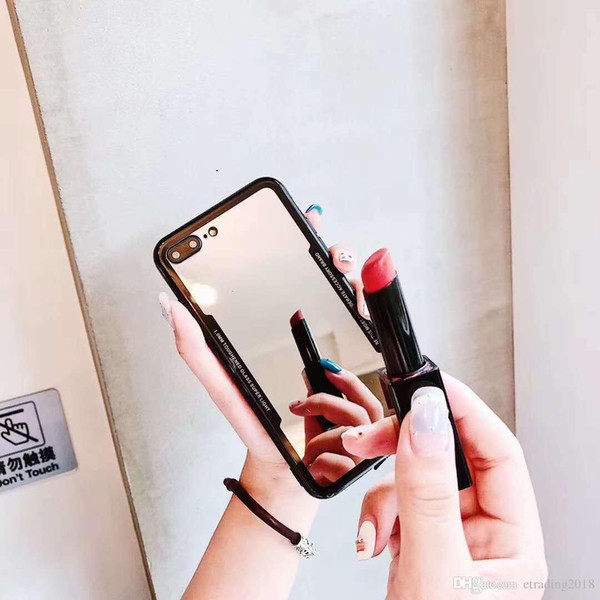 Top Quality Mirrow Design Makeup Selfie Case Cover for iPhone 6 7 8 Plus X