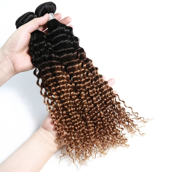 Kinky curly 10A 100 human hair weave, bundle brazilian human hair extension Factory Price 26 28 inch