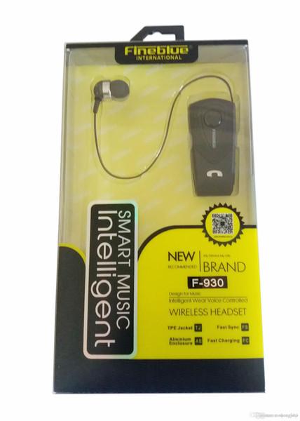 Original Fineblue F930 Drahtlose Freiheit Business Bluetooth Headset Anruf Klarheit Musik Bluetooth Kopfhörer