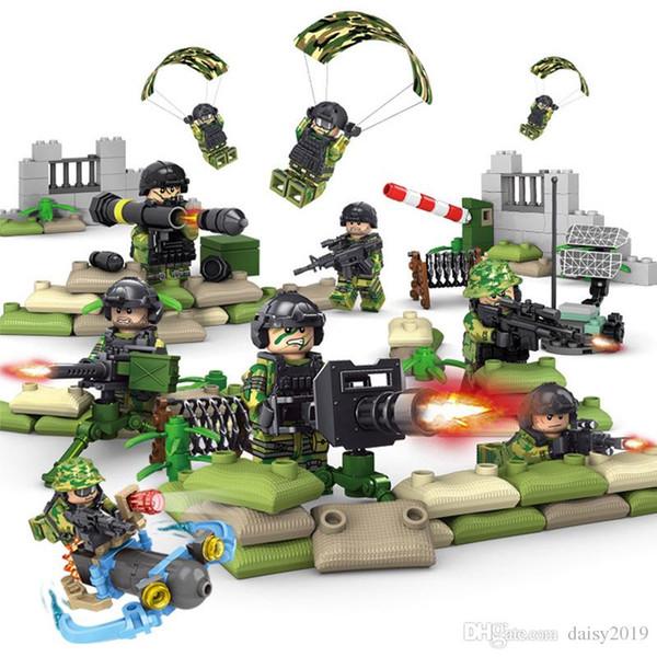 Military Soldiers Weapons SWAT Police Guns Accessori Giocattoli per bambini K101