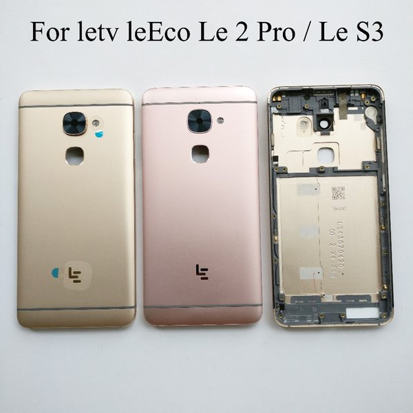 Pink For letv leEco Le 2 Pro X620 X526 X625 Back Battery Cover Door Housing case Rear Glass parts For letv LeEco le S3