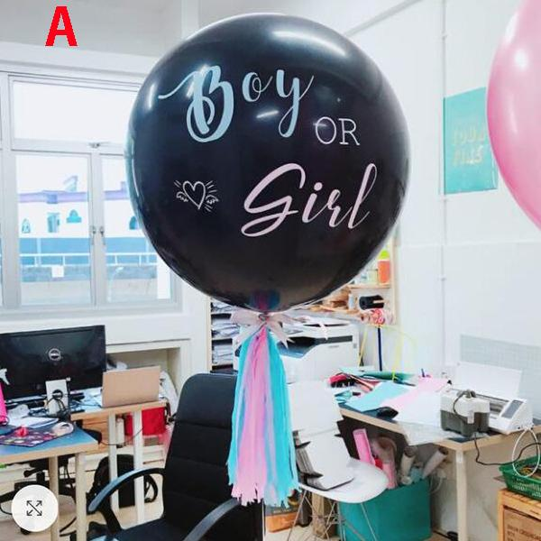 A (36 inch Balloon+wastepaper)
