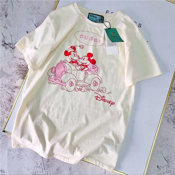 20SS marques de luxe homme Paris guchi femme amants de T-shirt polo ras du cou à manches courtes d'été T-shirt respirant Gilet Streetwear 11,24