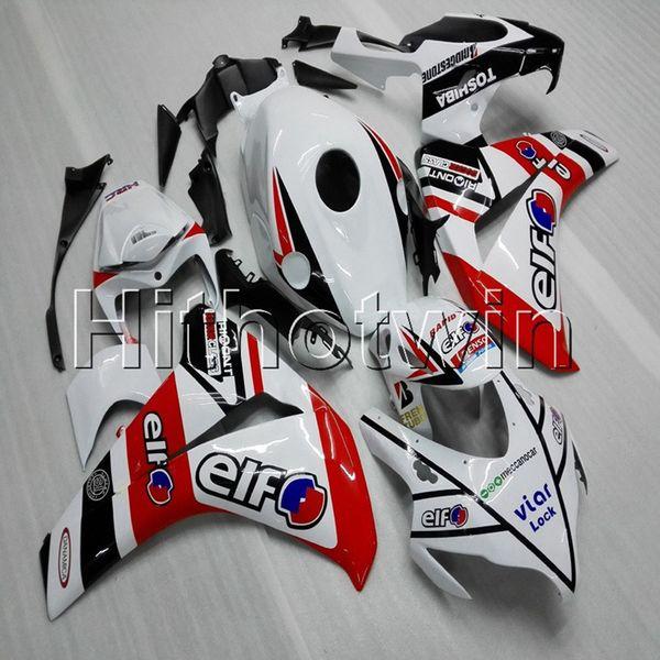 Regalos + Tornillos Moldeo por inyección eif funda de motocicleta blanca roja para HONDA CBR1000RR 2008 2009 2010 2011 motocicleta ABS Casquillo carenado