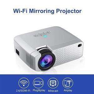 D40W WiFi Mirroring Projector