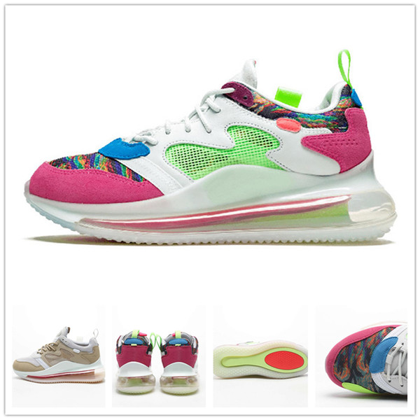 OBJ Young King of The Drip Desert Ore Multi Colour Hyper Pink Rose 2019 Running Shoes Men Women BECKHAM JR Trainer Sneakers Size 5.5-12