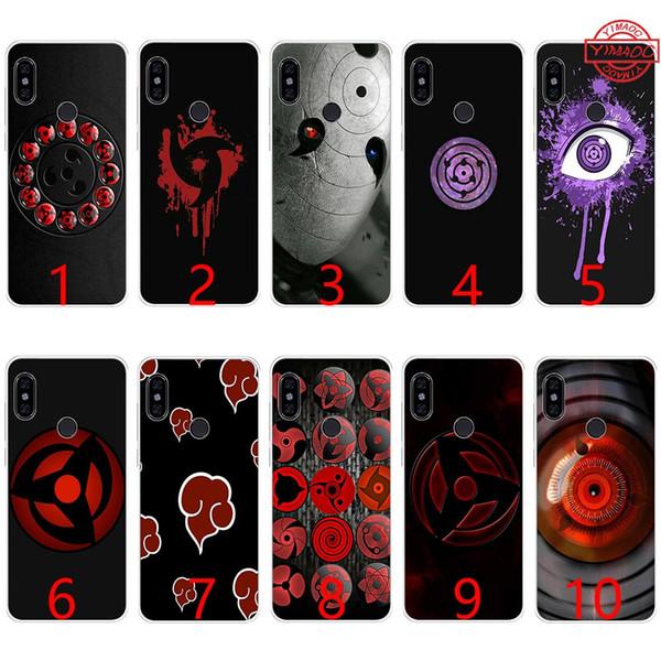 Naruto Sharingan Rinnegan Мягкий силиконовый чехол для телефона TPU для Xiaomi Mi A1 5X 6 6X 8 SE Mix 2S A2 Lite крышка