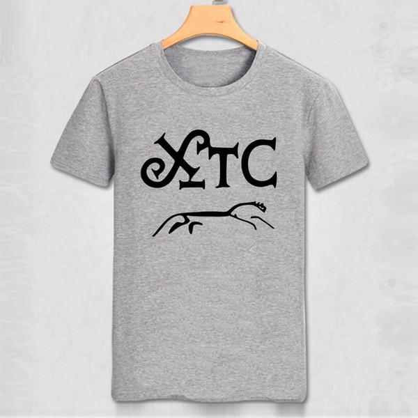 XTC T-shirt British Retro Punk XTC T Shirt 1970s punk Rock tee shirt men vintage classic cotton shirt